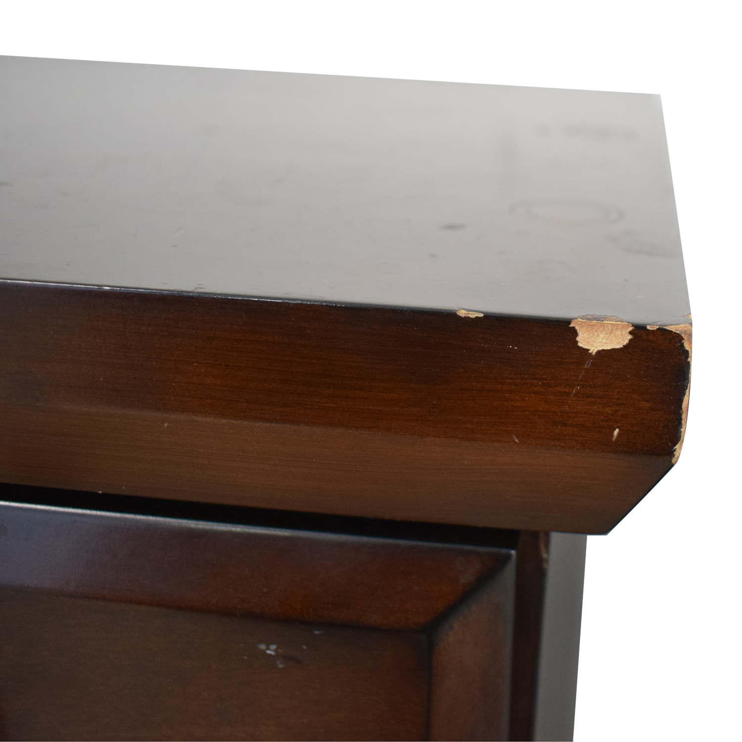 Three Drawer Wood Nightstands discount
