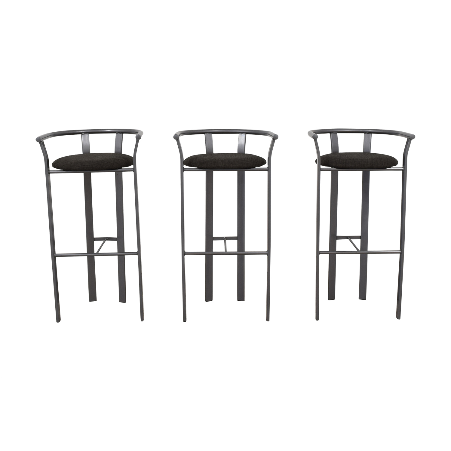 Gray Bar Stools used