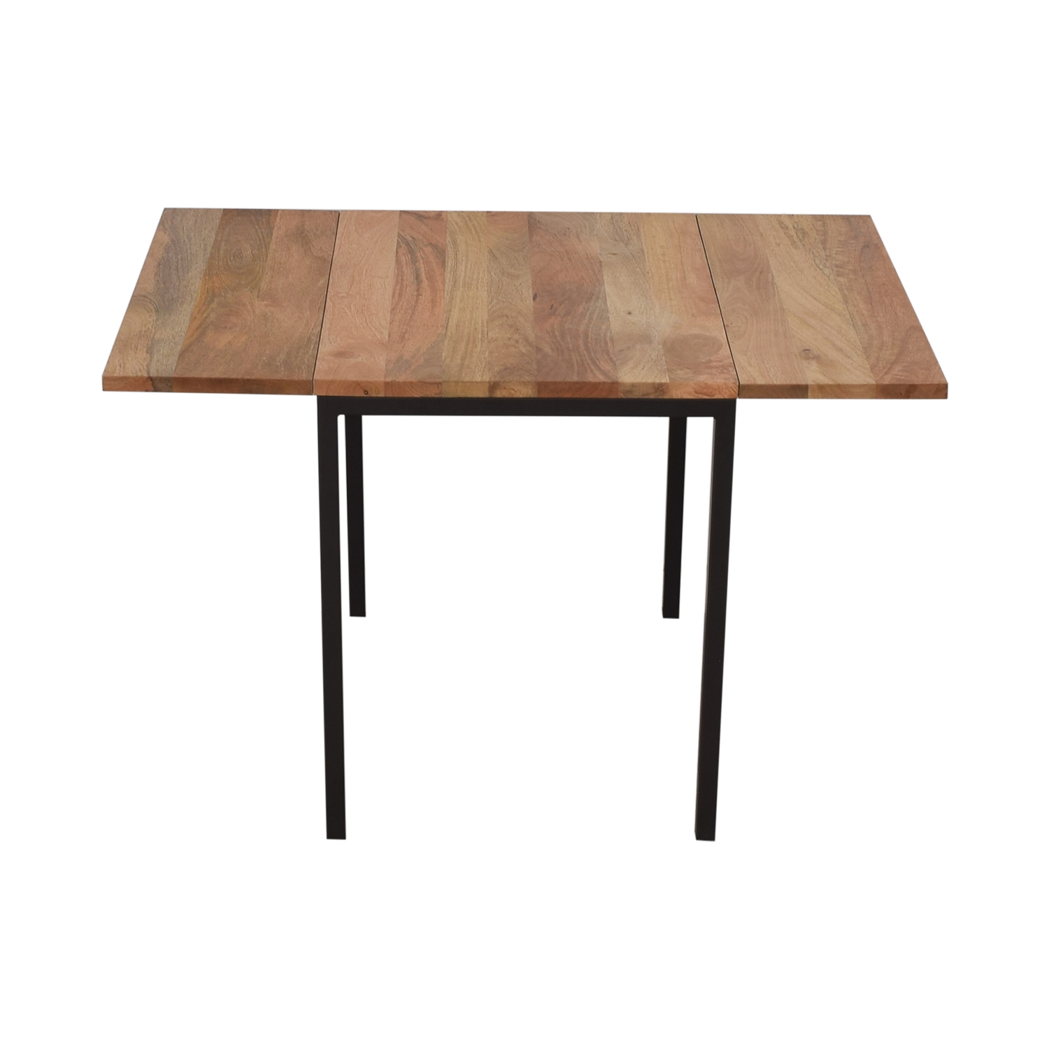 West Elm West Elm Raw Mango Drop Leaf Dining Table coupon