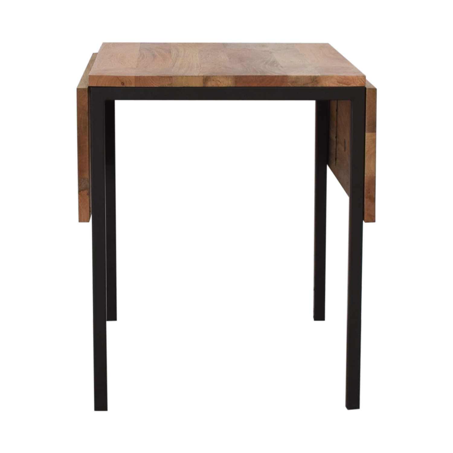 West Elm Raw Mango Drop Leaf Dining Table / Dinner Tables