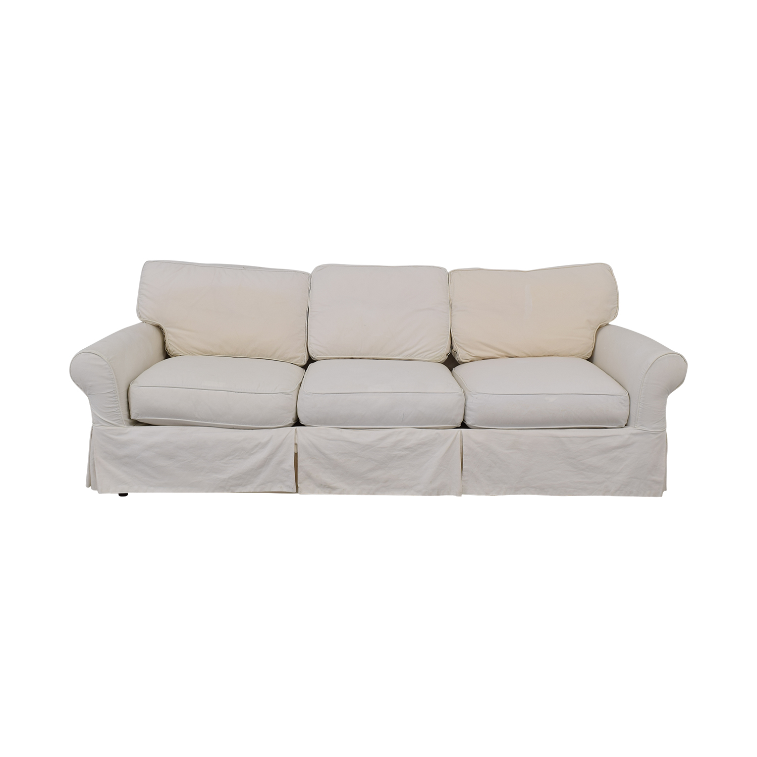 buy Crate & Barrel Slipcover Sofa Crate & Barrel Classic Sofas