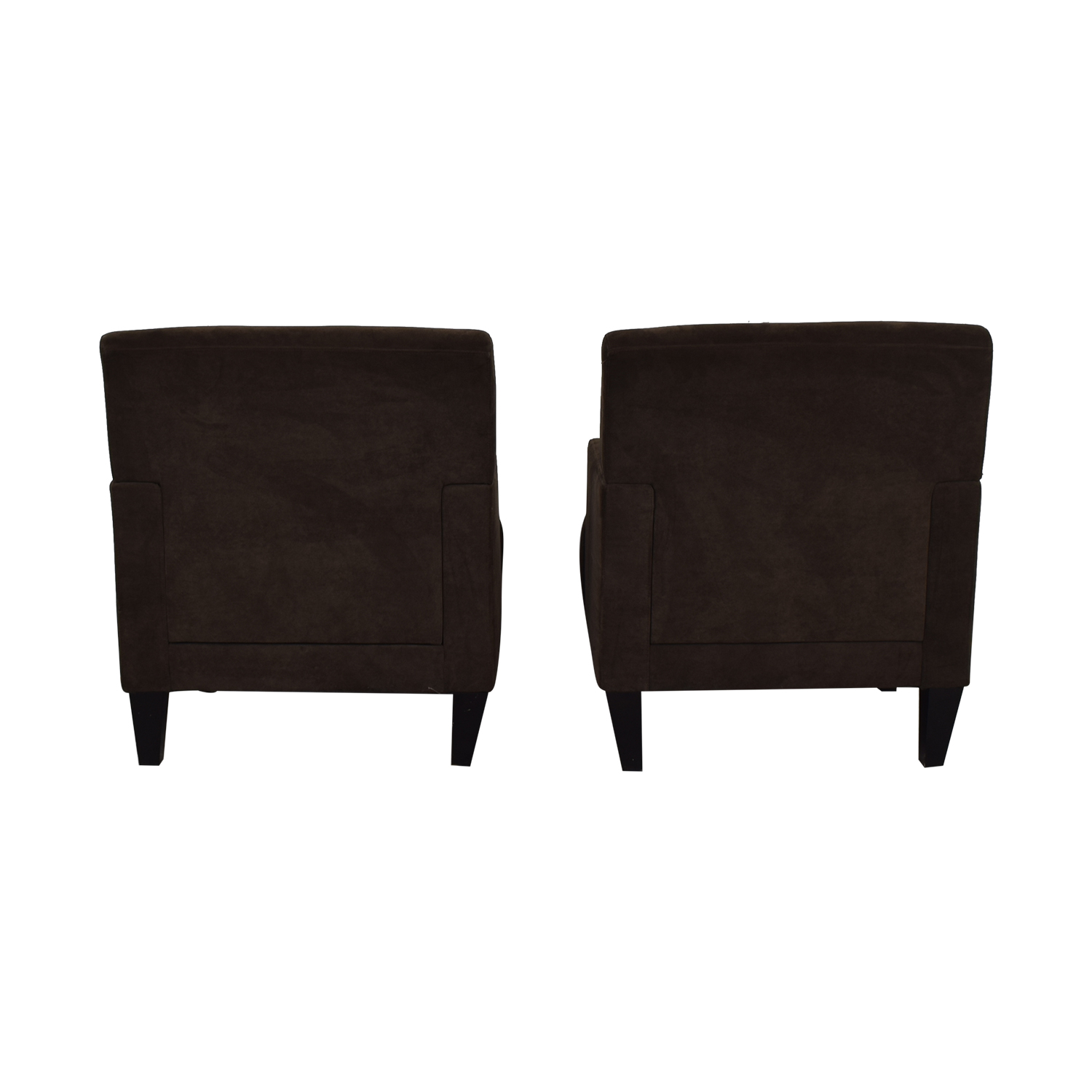 Havertys Havertys Brown Arm Accent Chairs dimensions