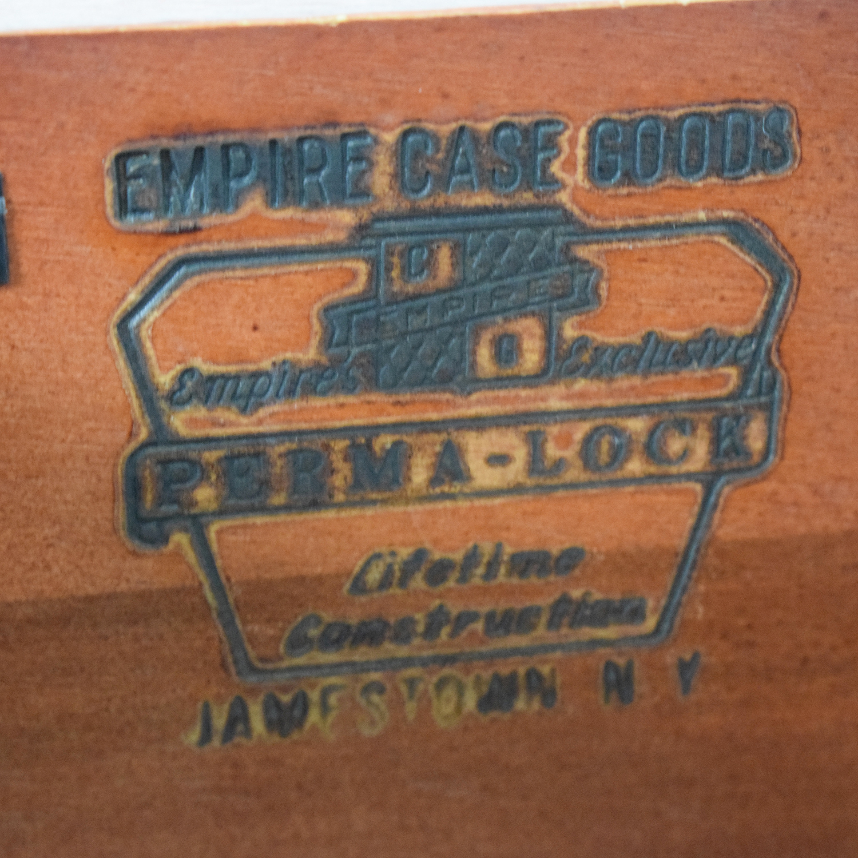 Empire Case Goods Empire Case Goods Refurbished Royal Blue Five-Drawer Dresser on sale