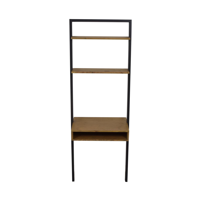 West Elm Ladder Shelf Desk sale