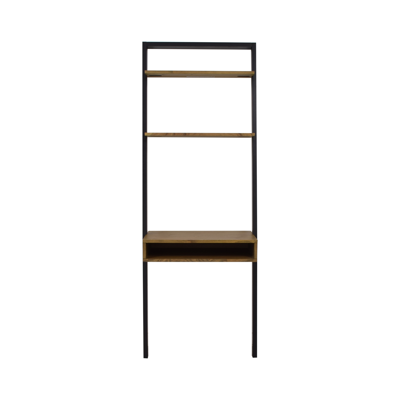 big sale 7a90e 6ced8 48% OFF - West Elm West Elm Ladder Shelf Desk / Storage