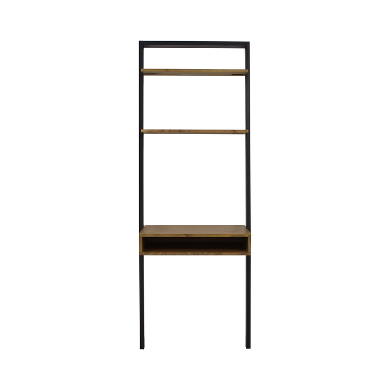 shop West Elm Ladder Shelf Desk West Elm