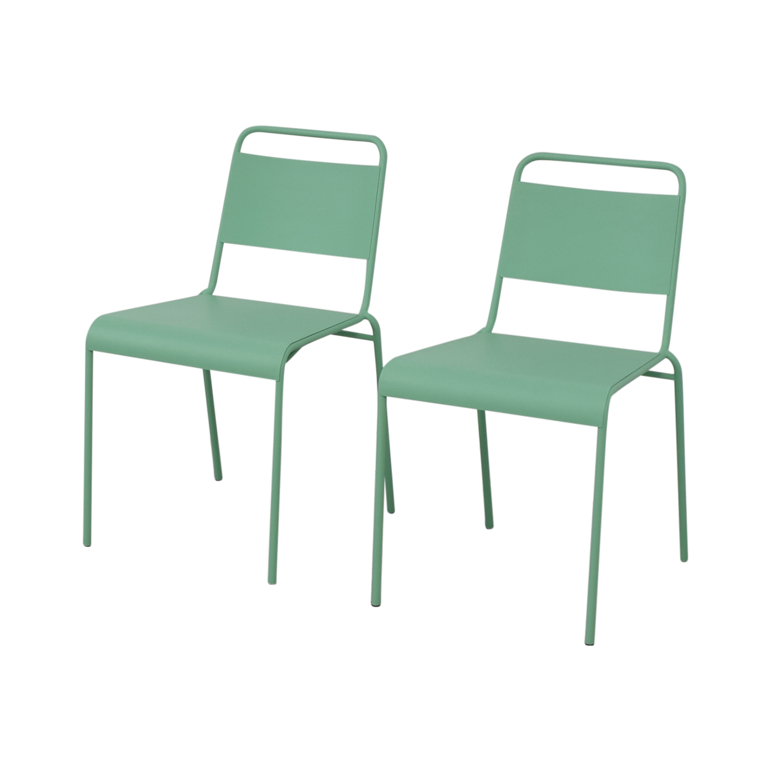 West Elm Lucinda Mint Green Dining Chairs / Chairs