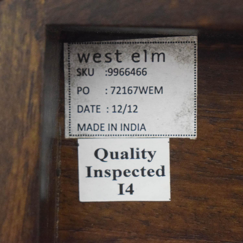 shop West Elm Boerum Wood Platform Queen Bed Frame West Elm Beds