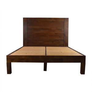 West Elm West Elm Boerum Wood Platform Queen Bed Frame price