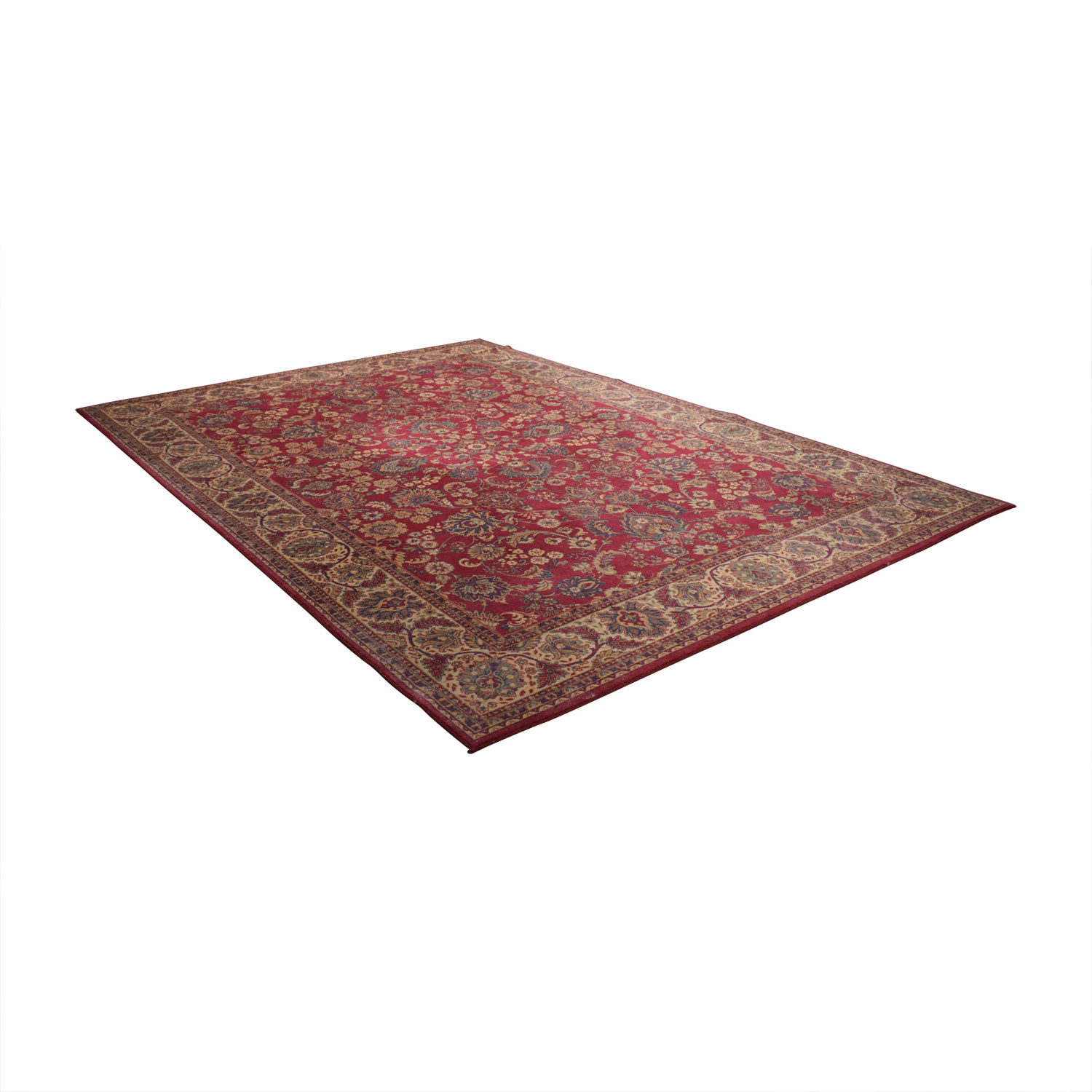 Belgium Masters Red Persian Rug sale