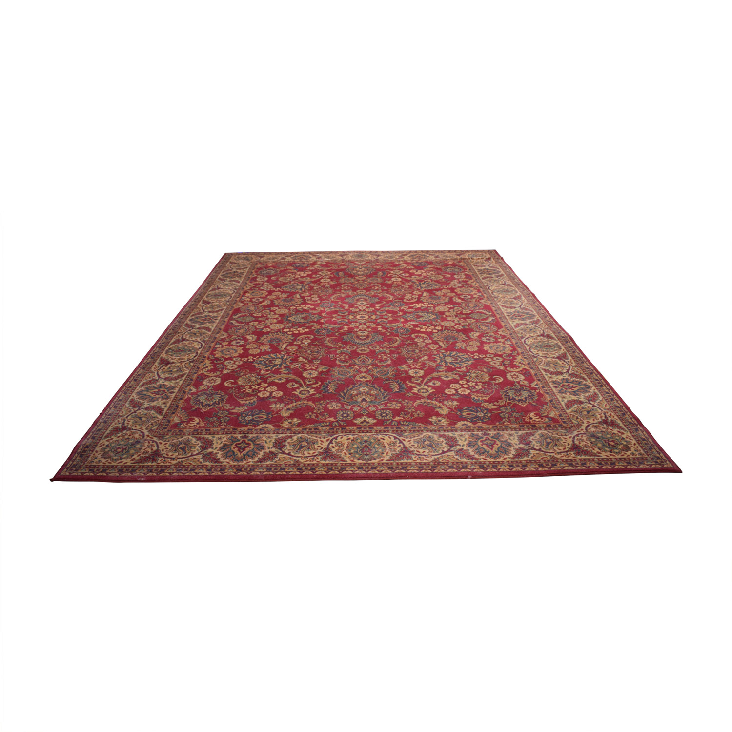 shop Belgium Masters Red Persian Rug Belgium Masters Decor