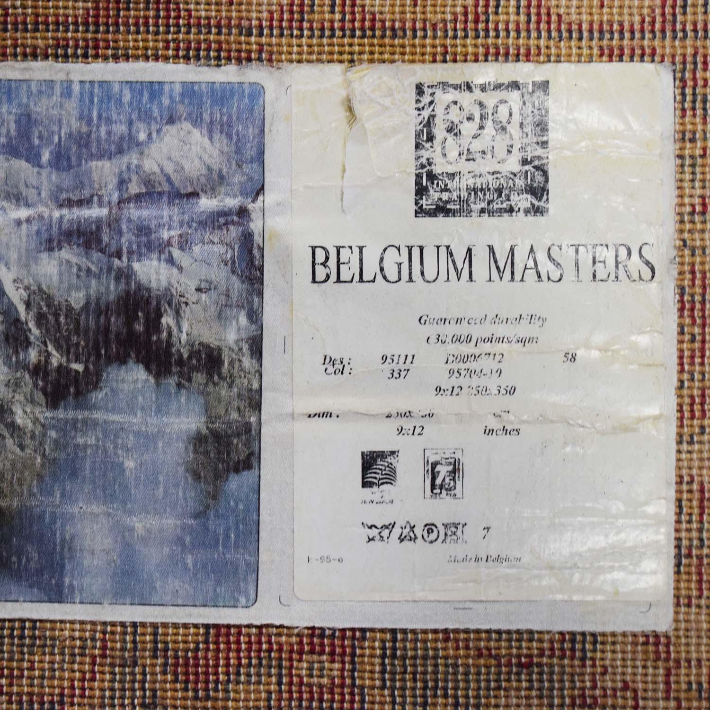 Belgium Masters Belgium Masters Red Persian Rug red