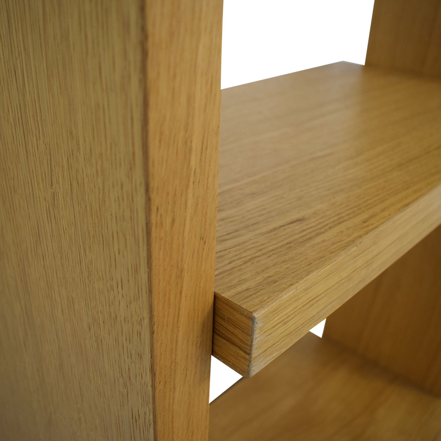 Oak Shelves with Storage Bookcases & Shelving