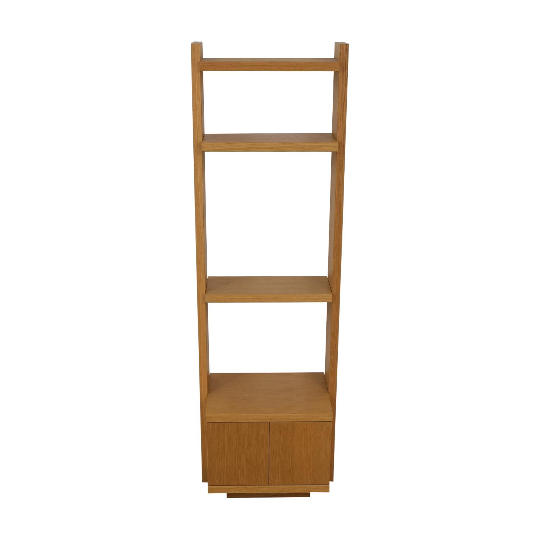 shop Oak Shelves with Storage