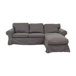 shop IKEA IKEA Grey Chaise Sectional online