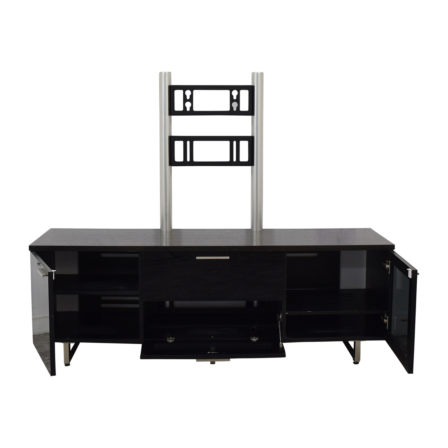 BDI BDI Avion Noir Media Cabinet with TV Brackets on sale