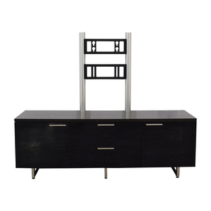 BDI BDI Avion Noir Media Cabinet with TV Brackets price