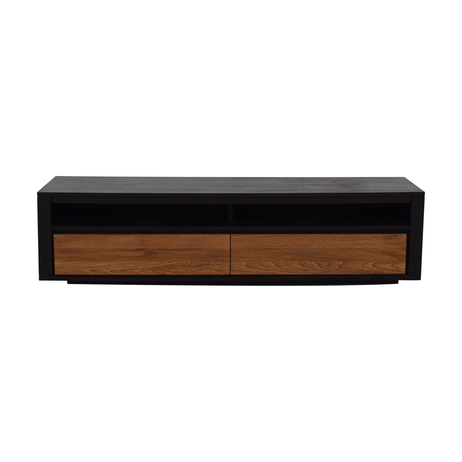 shop ABC Carpet & Home Form Teak Media Console ABC Carpet & Home Media Units