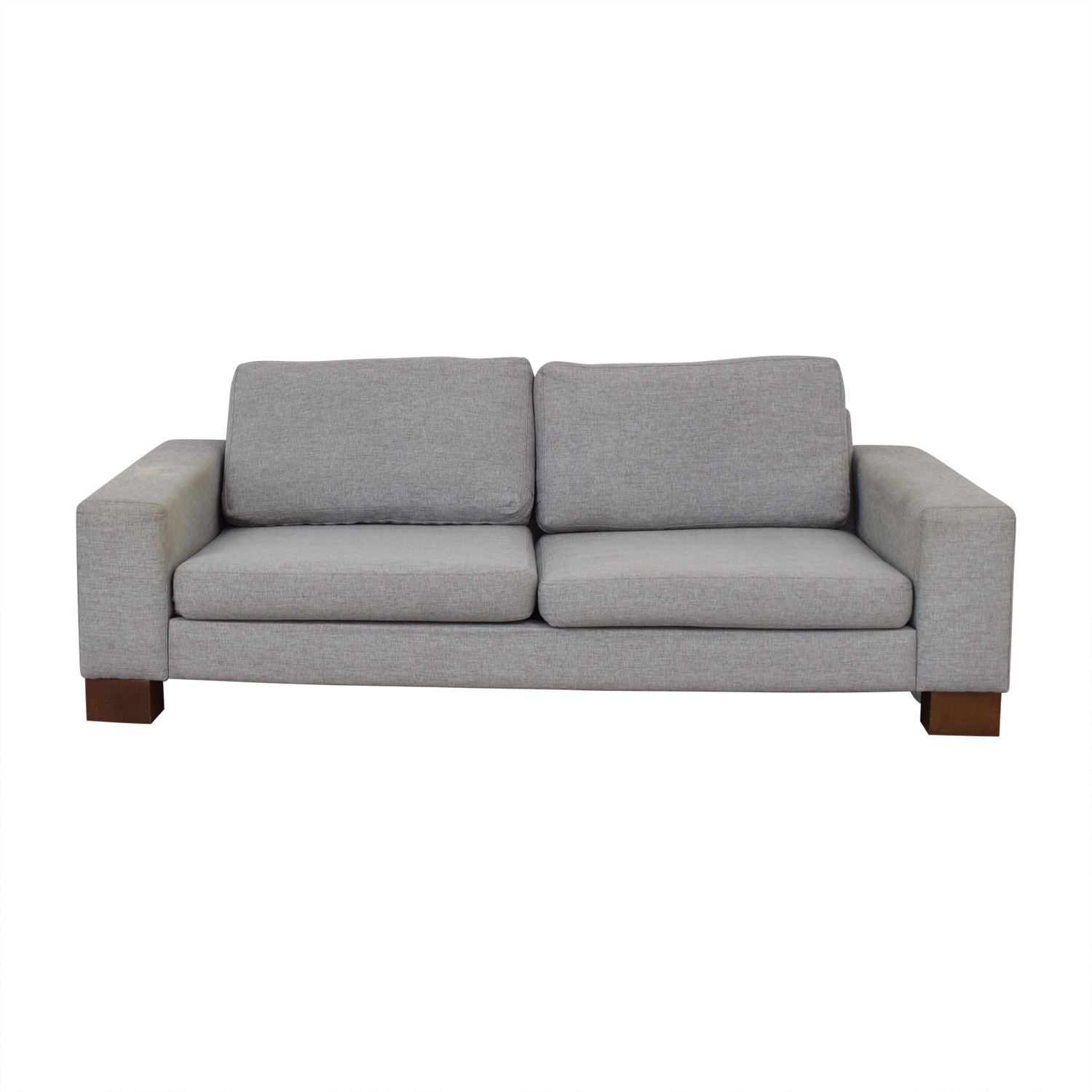 90 Off Boconcept Boconcept Grey Two Cushion Sofa Sofas