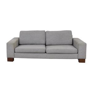 buy BoConcept Grey Two-Cushion Sofa BoConcept