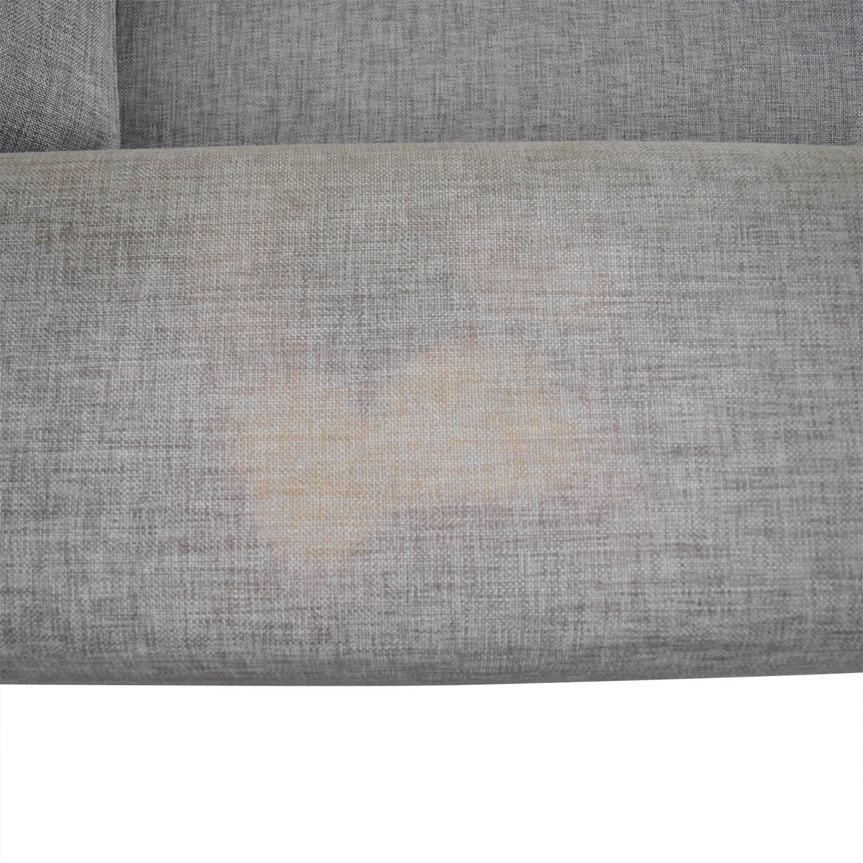 buy BoConcept Grey Two-Cushion Sofa BoConcept Classic Sofas