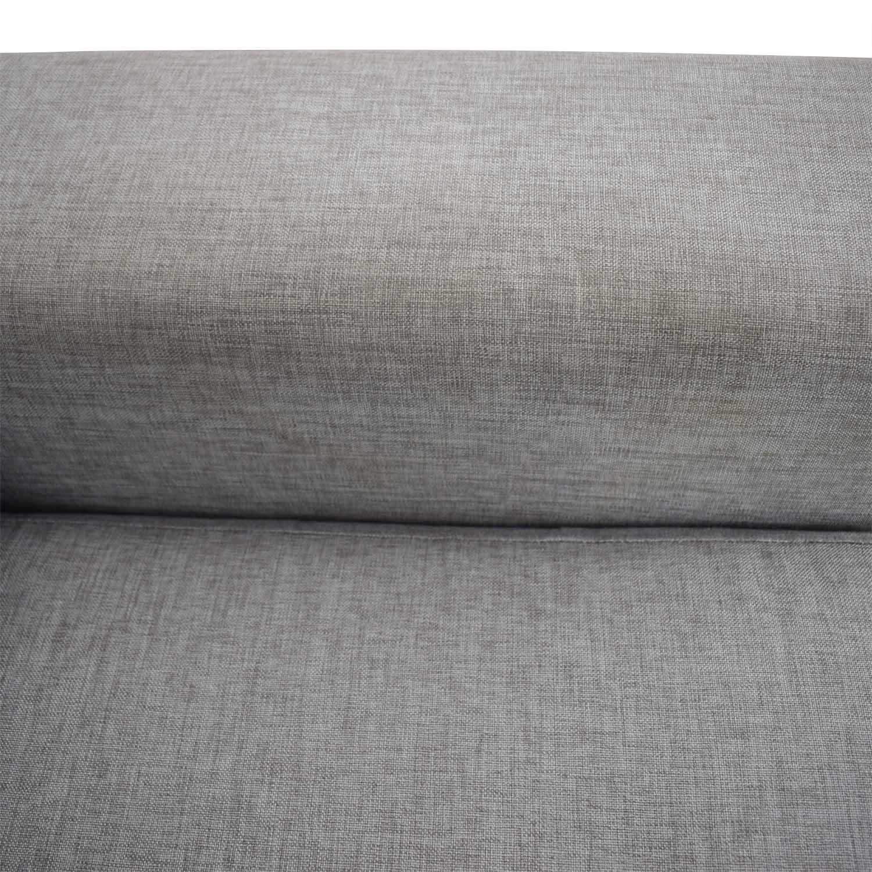 BoConcept BoConcept Grey Two-Cushion Sofa second hand
