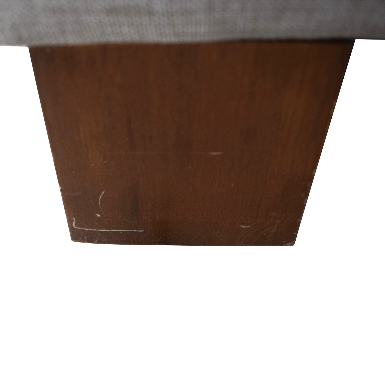 BoConcept Grey Two-Cushion Sofa BoConcept