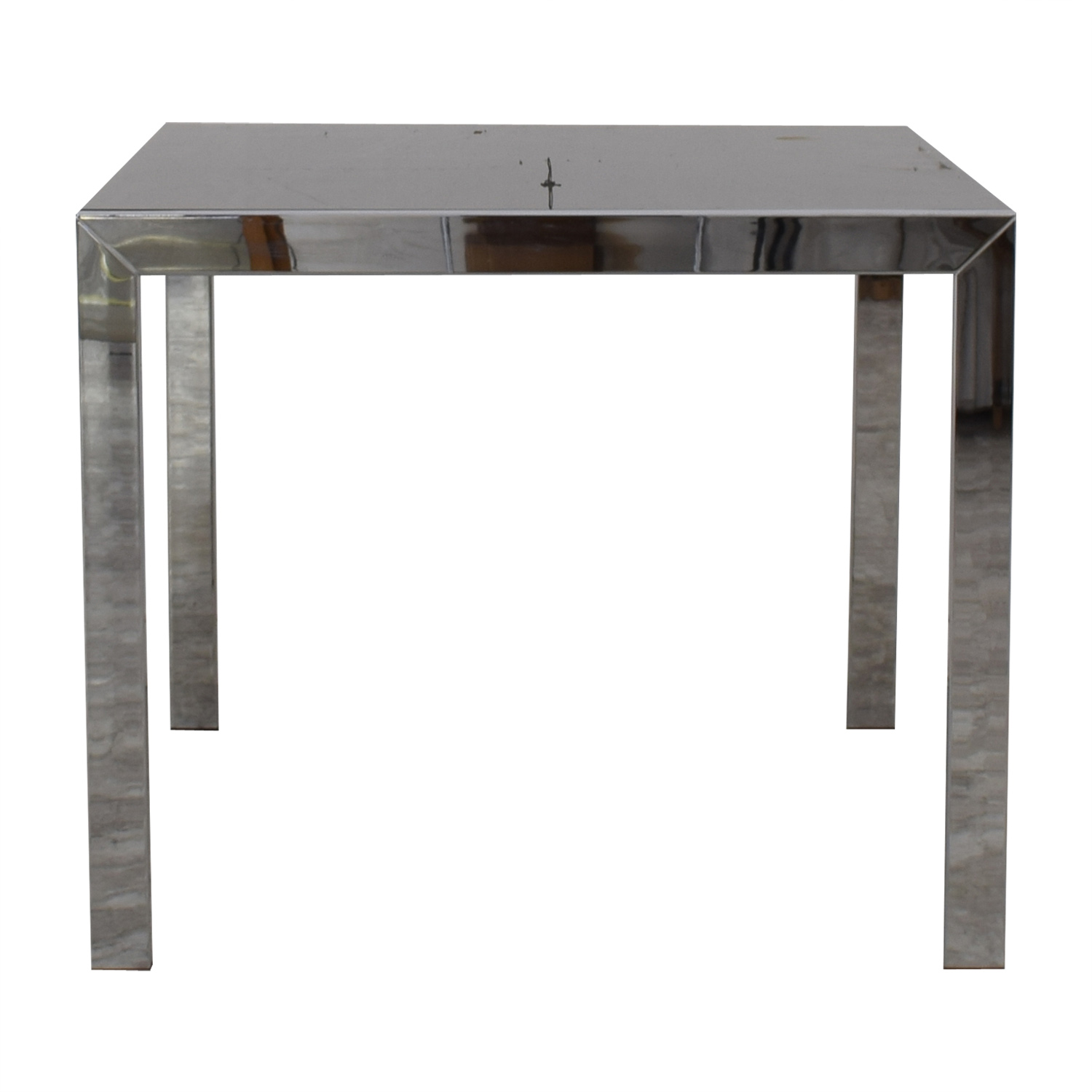 buy Jensen-Lewis Black Glass Extendable Dining Table Jensen-Lewis Tables