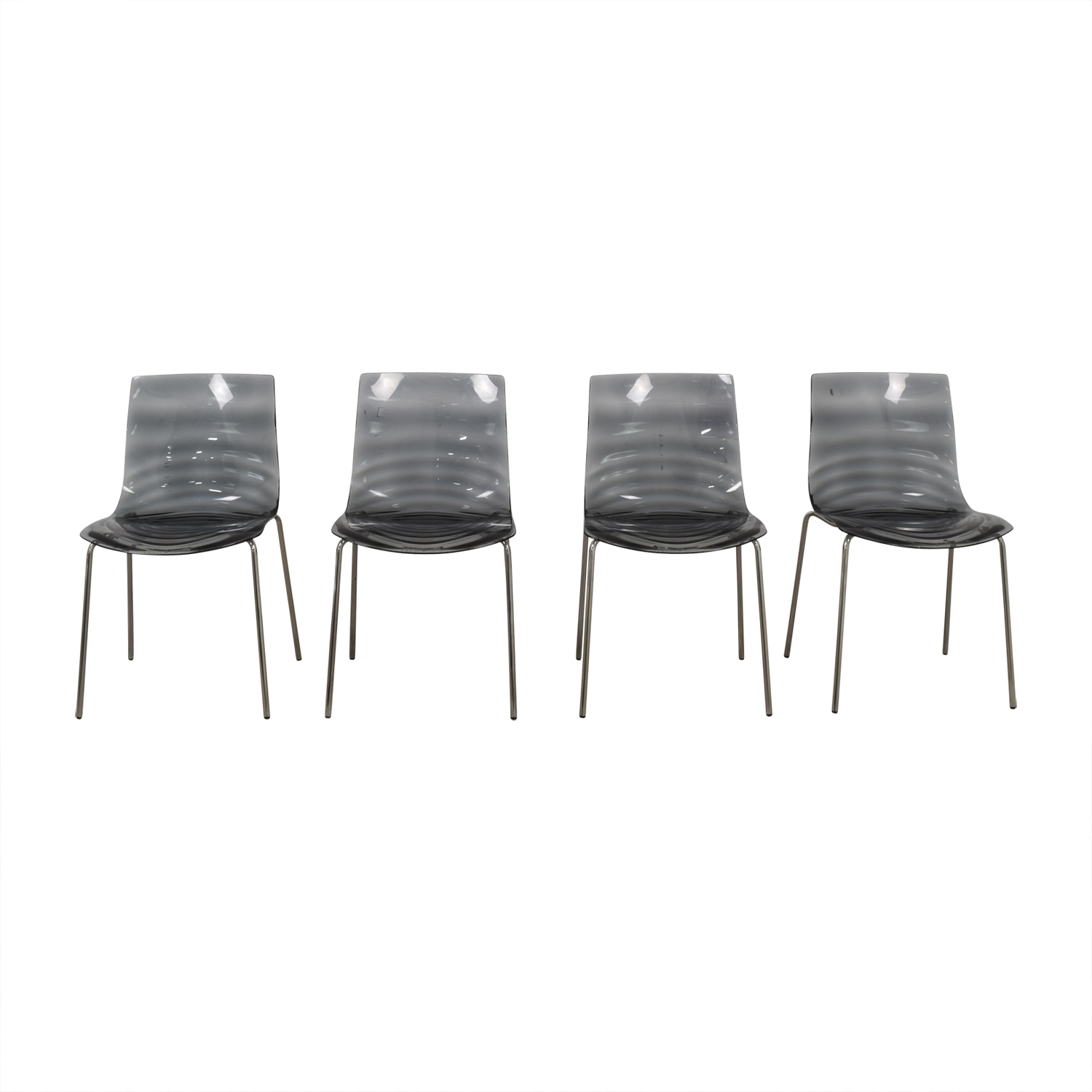 buy Calligaris Black Ghost Chairs Calligaris Dining Chairs