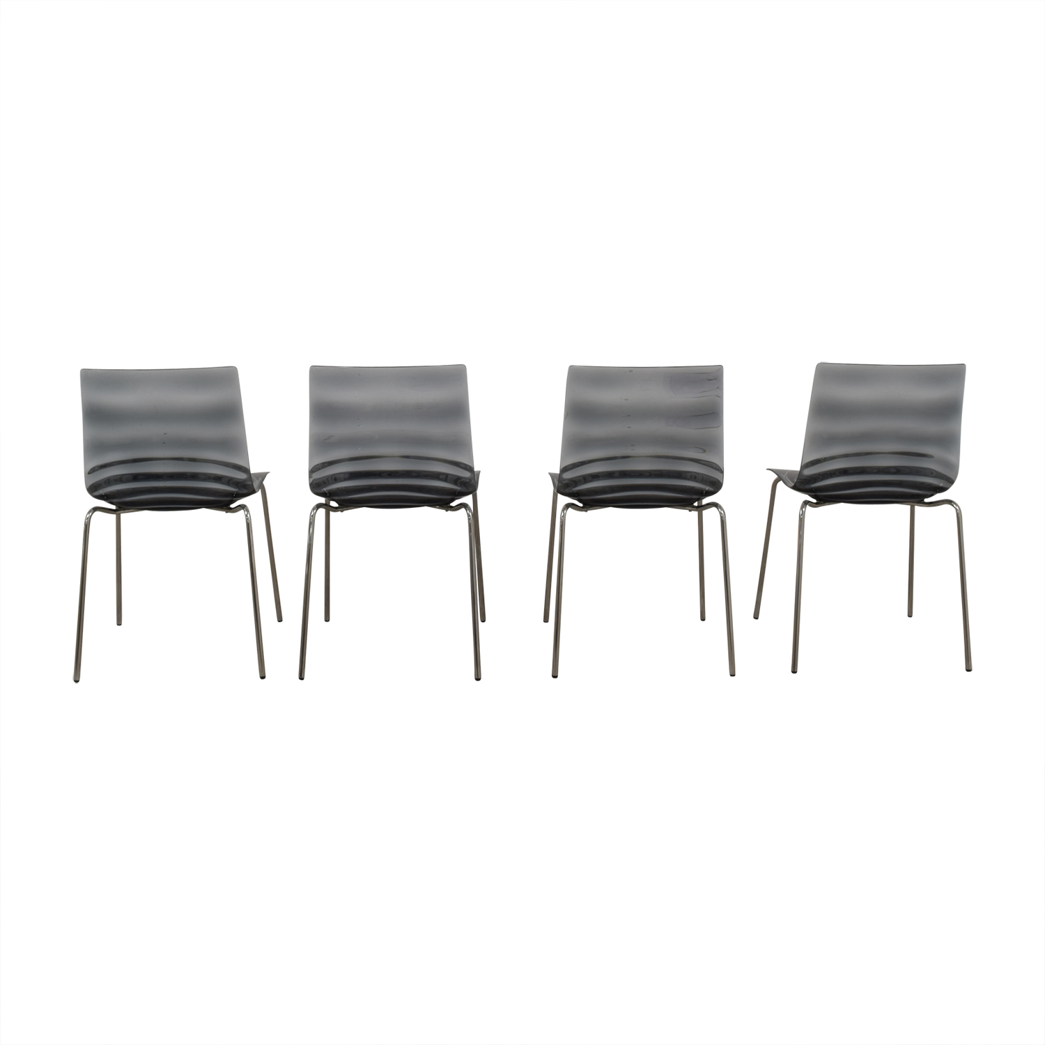 buy Calligaris Black Ghost Chairs Calligaris