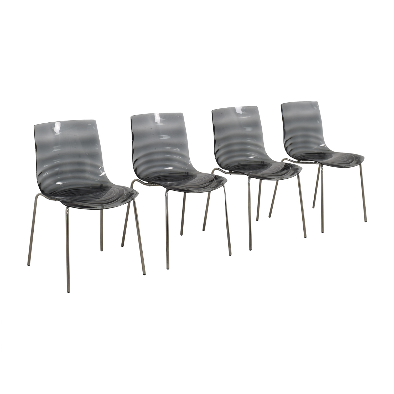 shop Calligaris Calligaris Black Ghost Chairs online