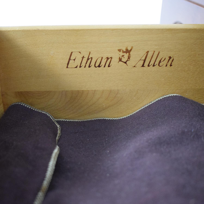 Ethan Allen Ethan Allen Wood Three-Drawer Sideboard used