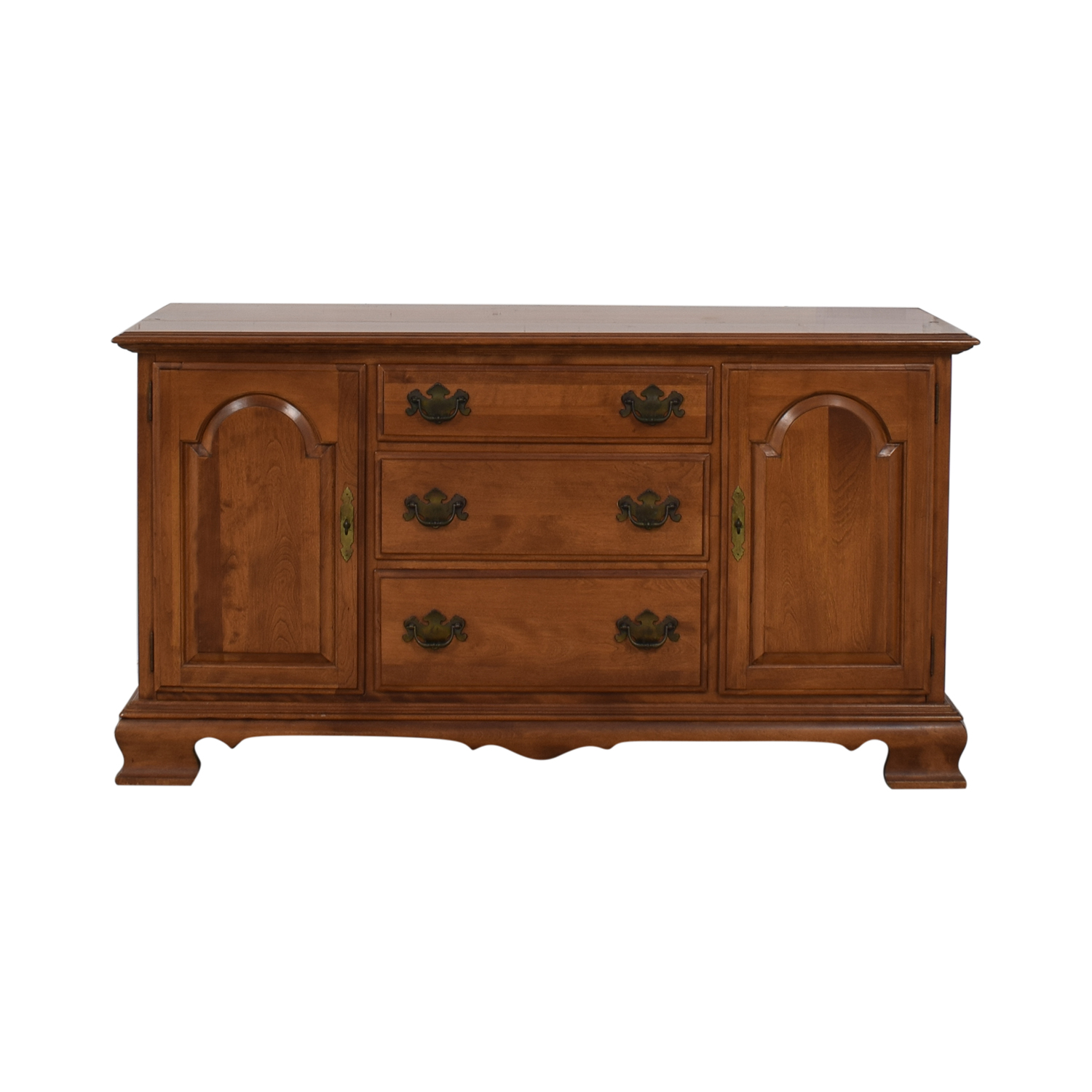 Ethan Allen Ethan Allen Wood Three-Drawer Sideboard for sale