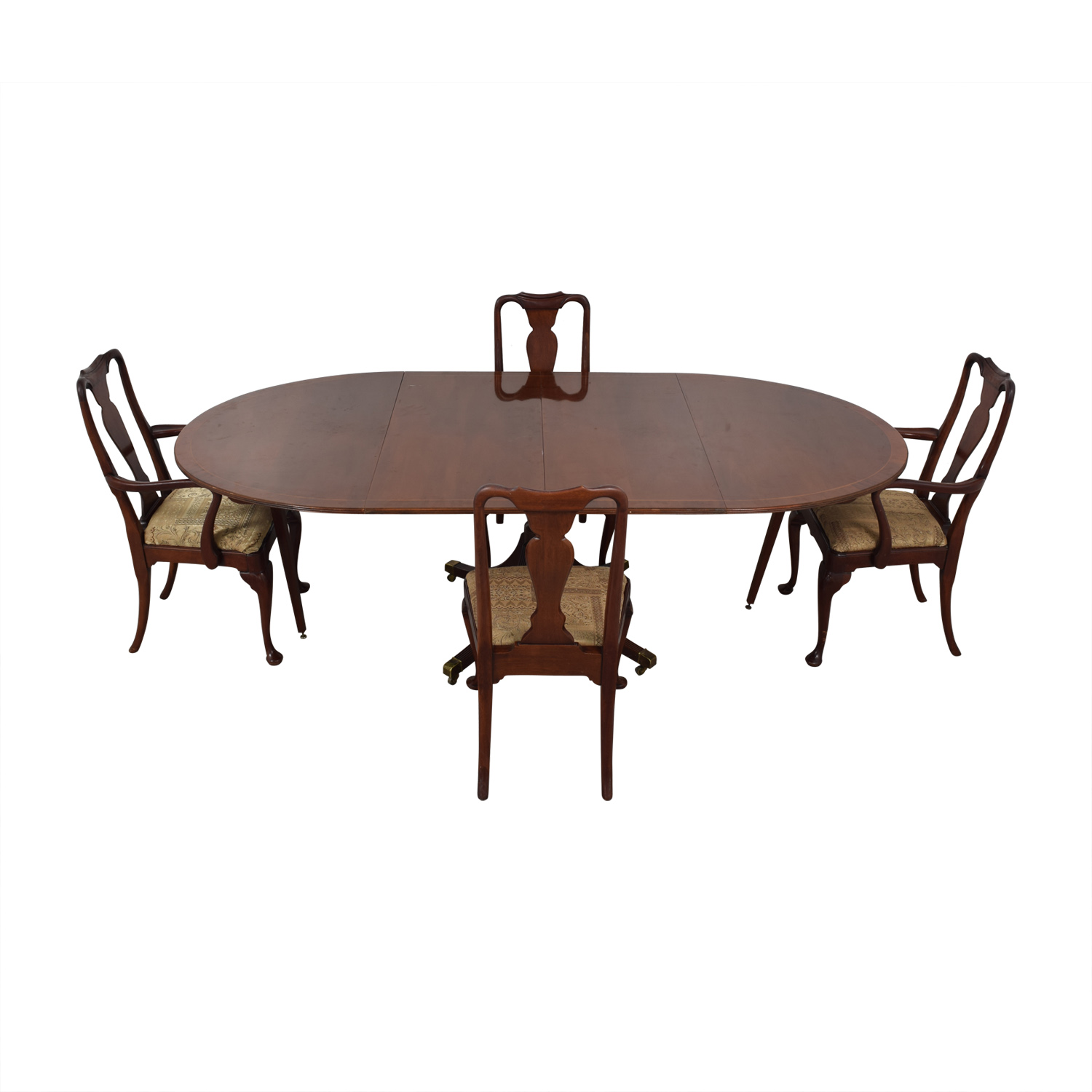 Baker Historic Charleston Reproduction Extendable Dining Table discount