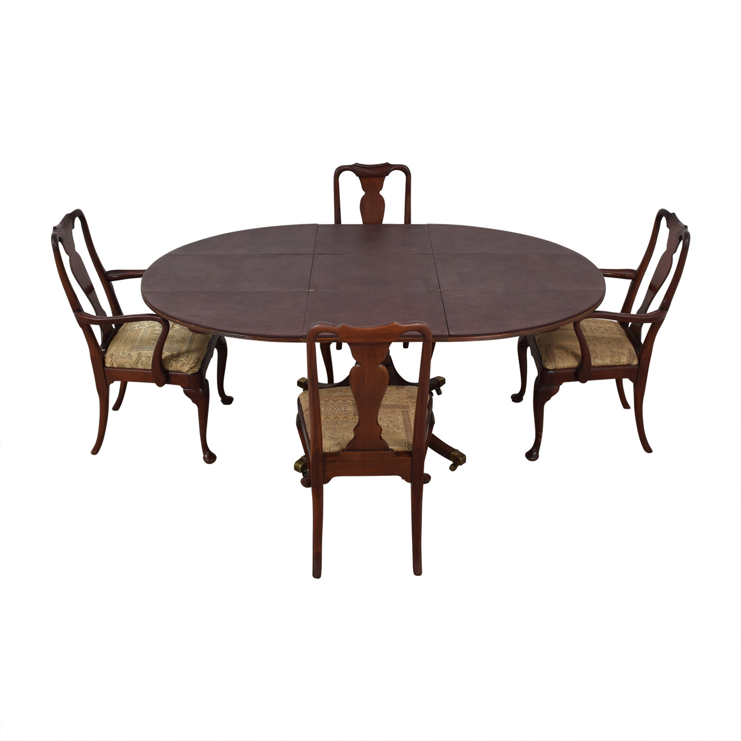 Baker Historic Charleston Reproduction Extendable Dining Table Dining Sets