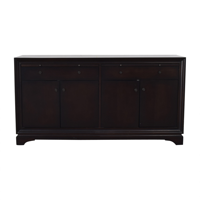 Two-Drawer Wood Buffet on sale