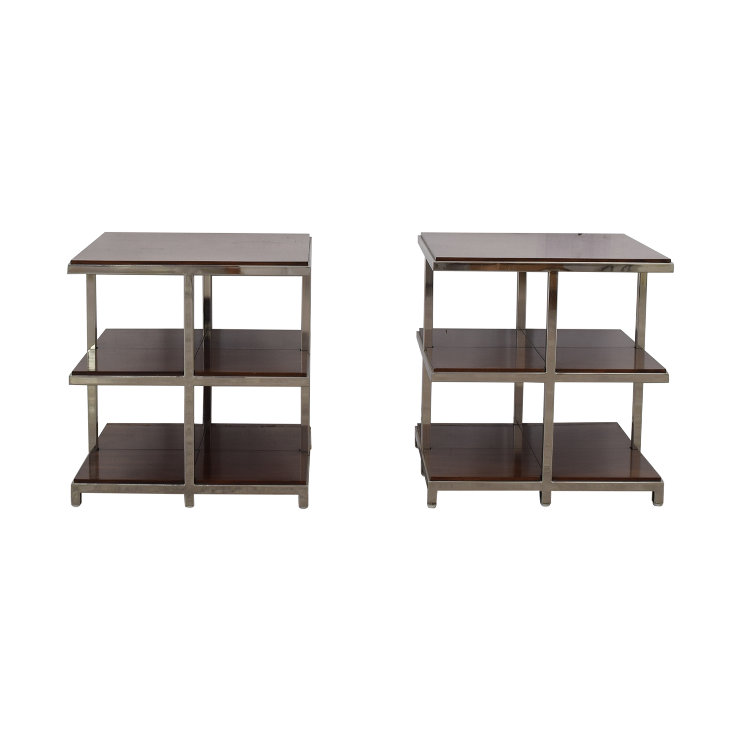 buy Williams Sonoma Chrome Side Tables Williams Sonoma