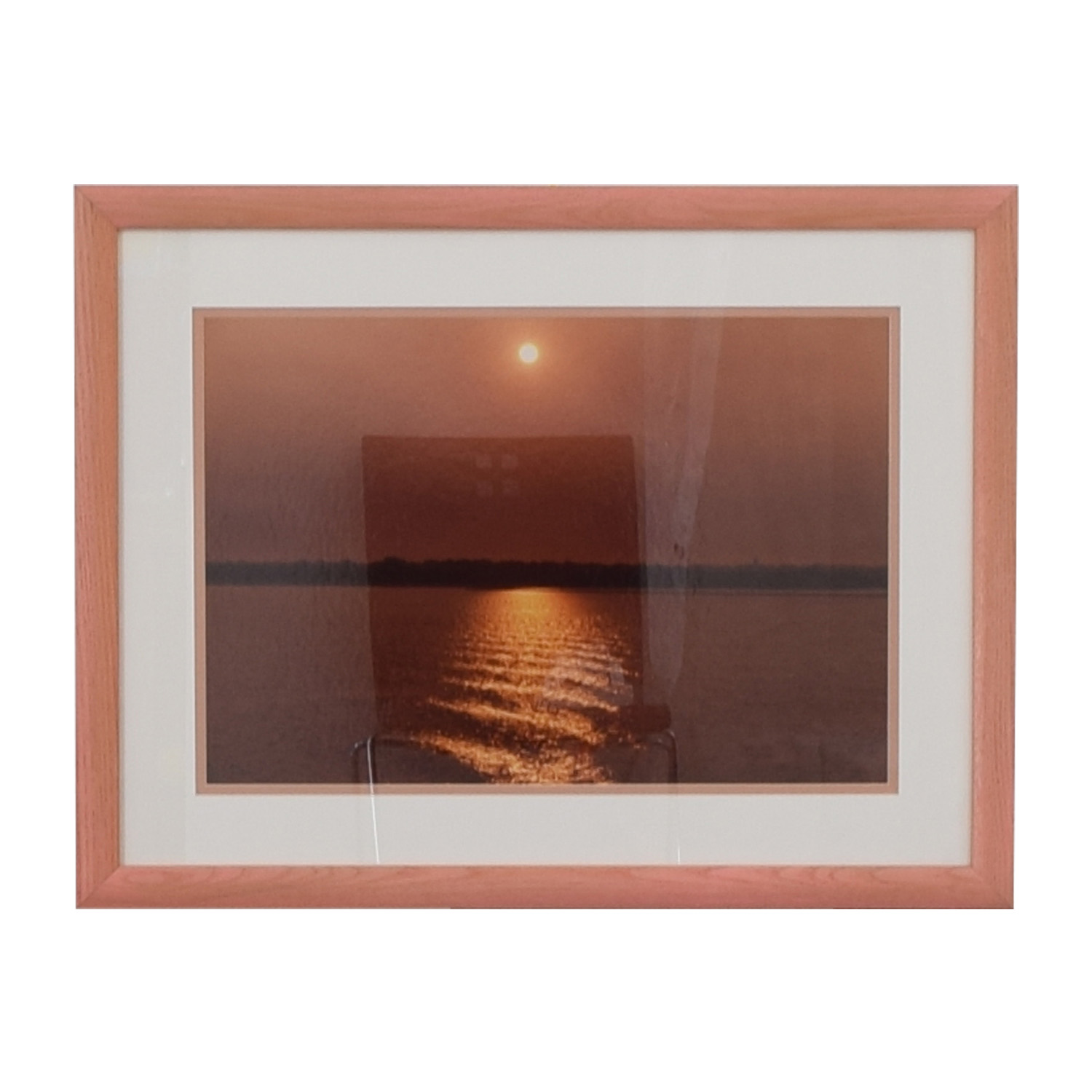 Ocean Sunset Wall Art multi color