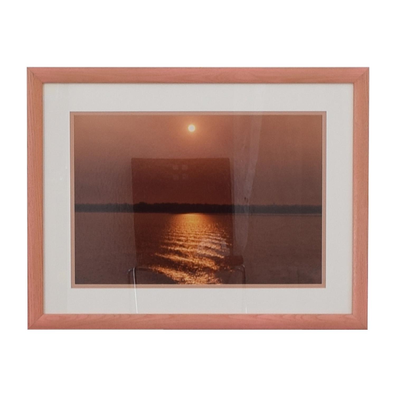 Ocean sunset wall art sale