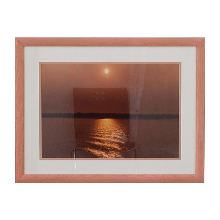 Ocean Sunset Wall Art discount