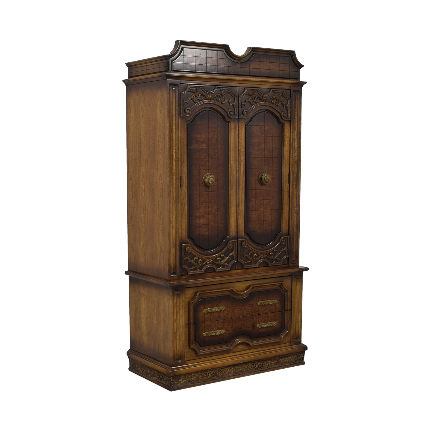 shop Seven-Drawer Wood Armoire  Wardrobes & Armoires
