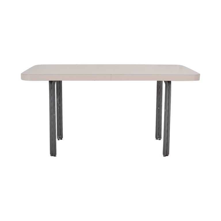 White Dining Table used