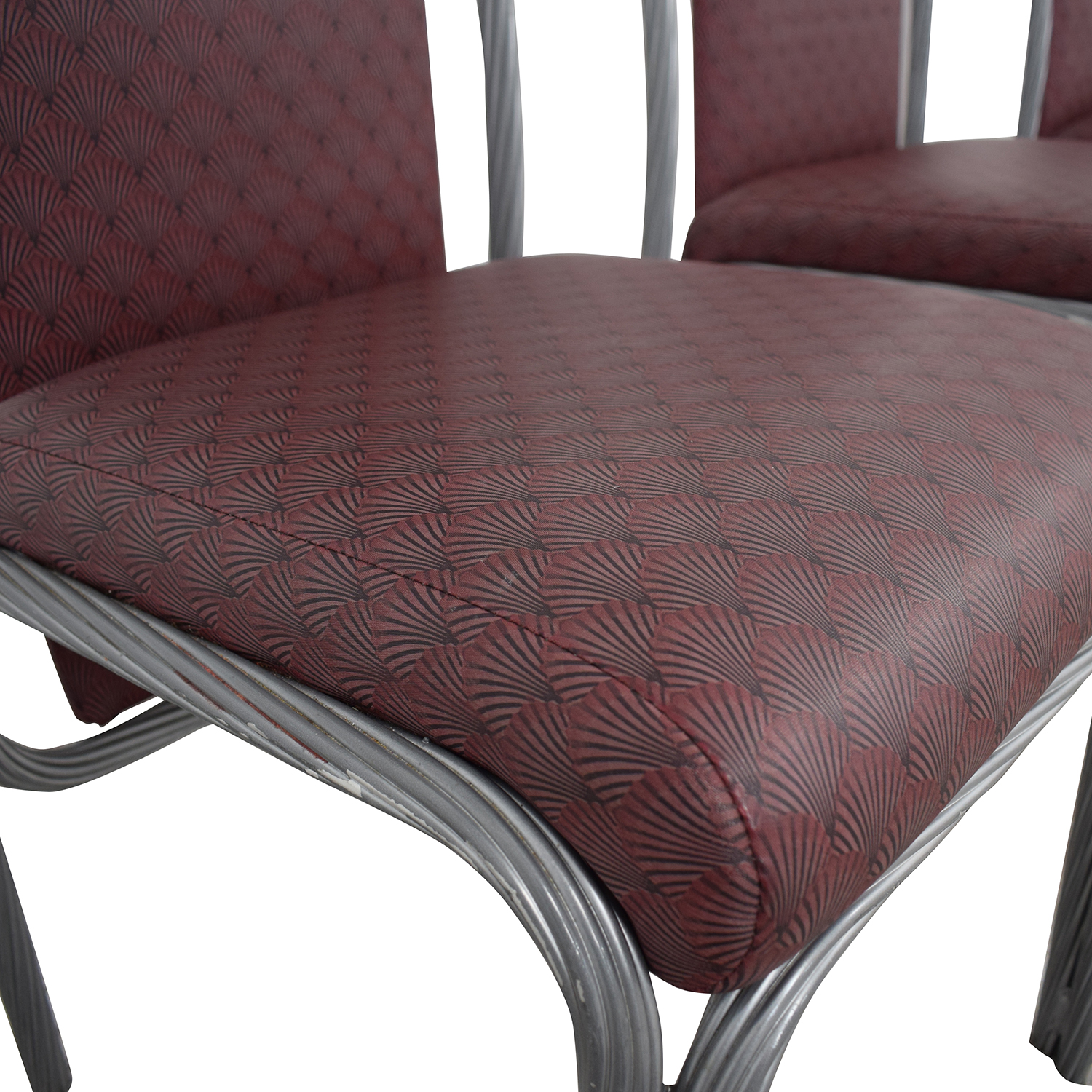 Precision Furniture Precision Furniture Purple Dinette Chairs for sale