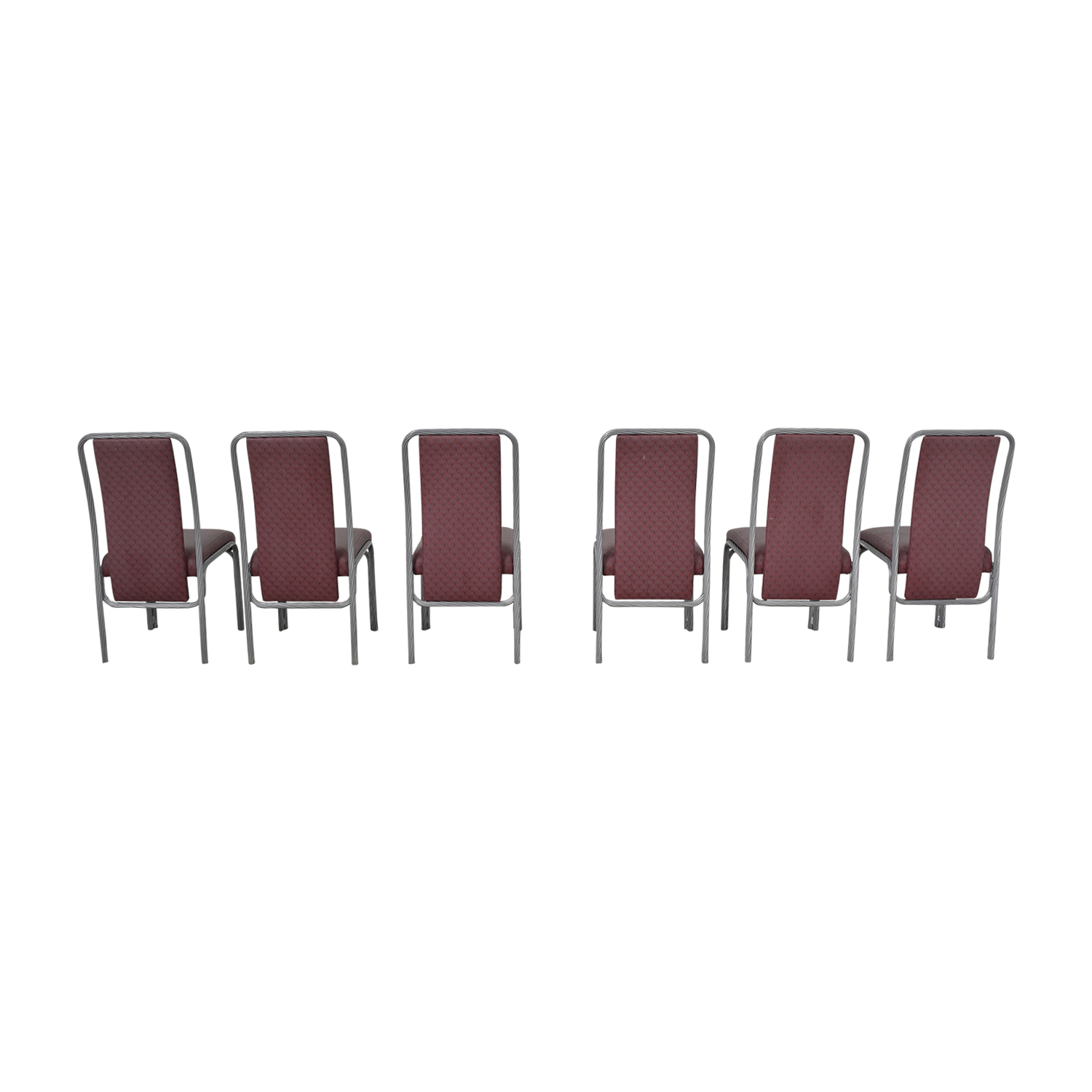 Precision Furniture Precision Furniture Purple Dinette Chairs