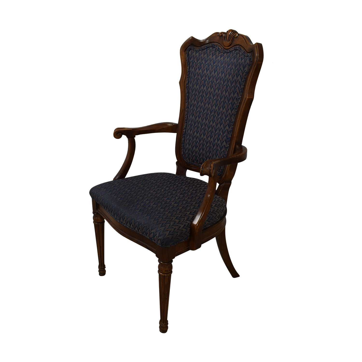 buy Multi-Colored Navy Armchairs  Dining Chairs