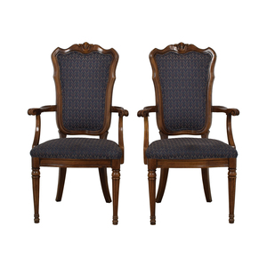 shop Multi-Colored Navy Armchairs