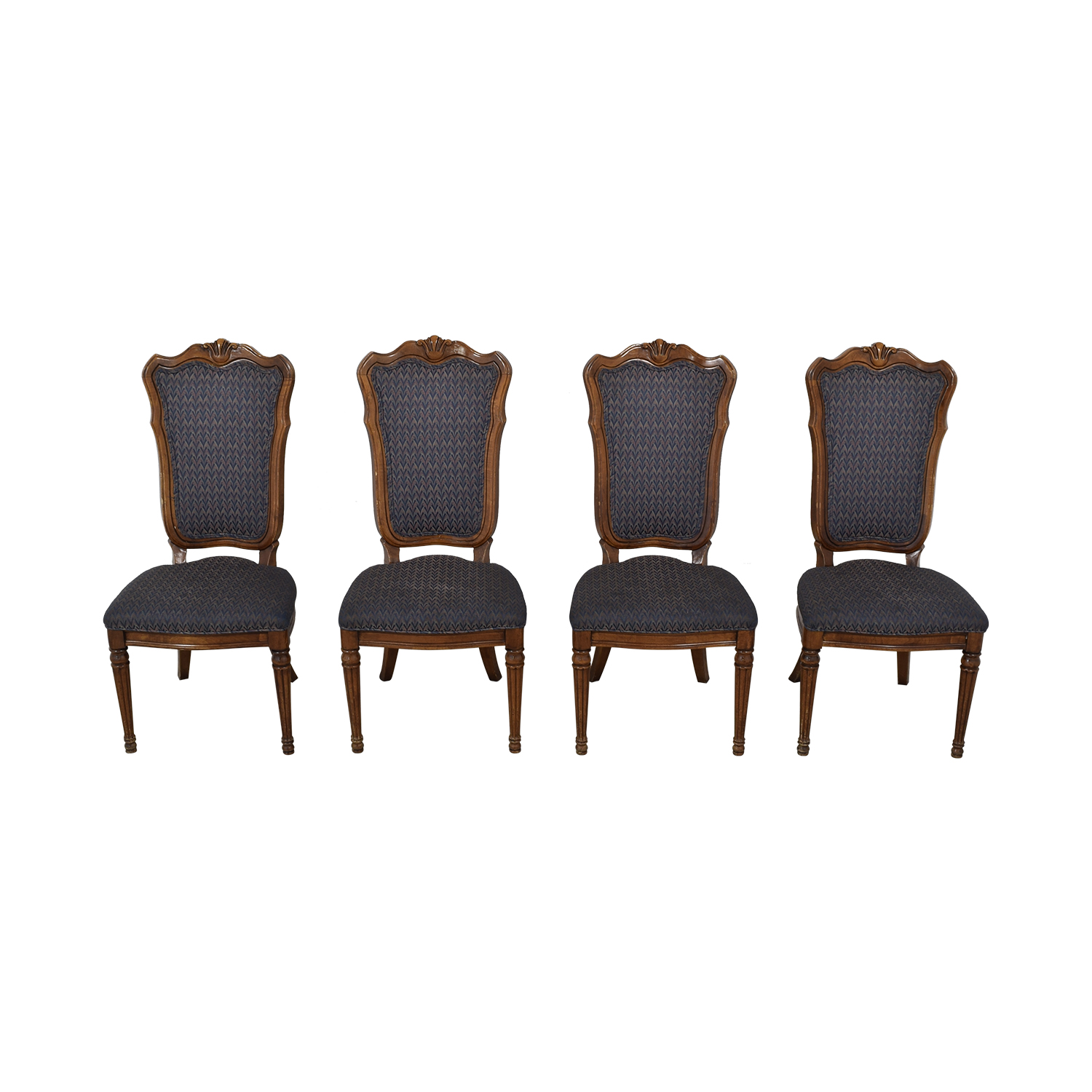 Multi-Colored Navy Dining Chairs sale
