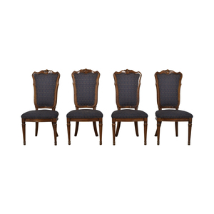 buy Multi-Colored Navy Dining Chairs  Chairs