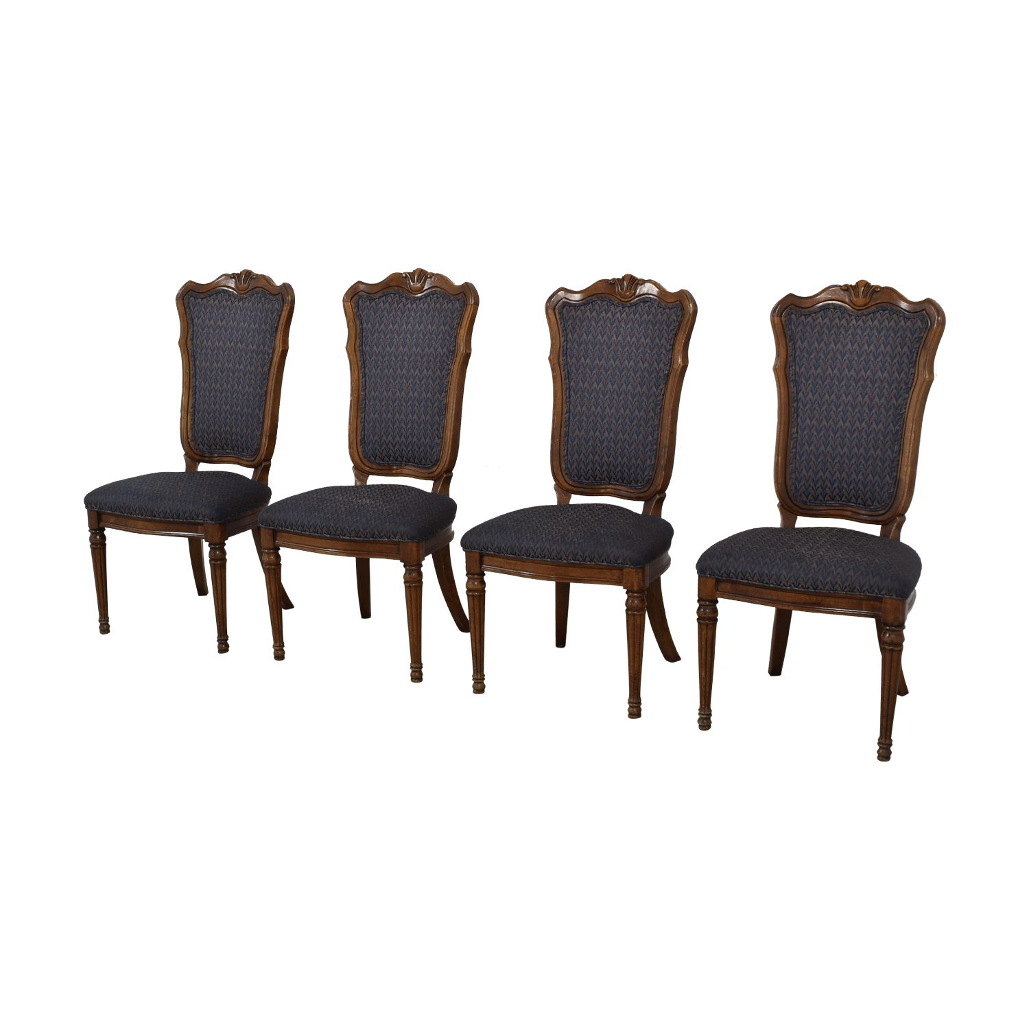 buy  Multi-Colored Navy Dining Chairs online