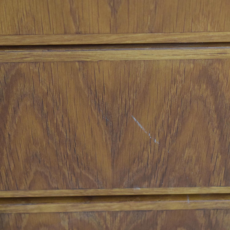 Custom Wood Ten-Drawer Credenza or Dresser / Storage